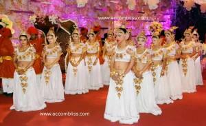Apsara Girls for Bridal Entry