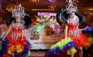 Carnival Theme for Groom Entry
